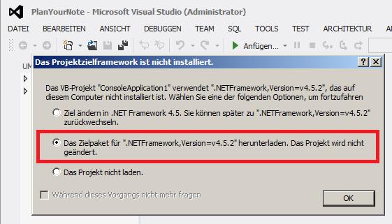 vs-anderes-dot-net-framework
