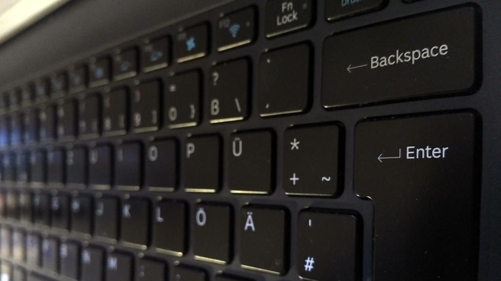 Tastatur ohne Break-Taste (Samsung)
